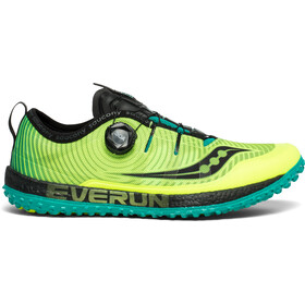 saucony Switchback ISO Schoenen Heren, citron/black